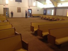 Church Pews - During